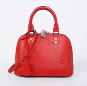 Louis Vuitton Epi Leather Alma BB Red free shipping $225