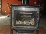 Heritage soap stone wood stove without flu pipe you will have to pk up